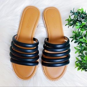 Madewell The Addie Slide Sandal Size 6 NEW $88